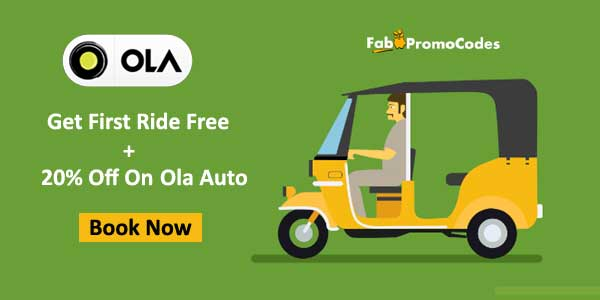 Save with the latest Ola coupon code for India - Verified Now!